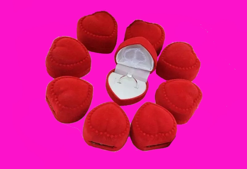 heart ring boxes